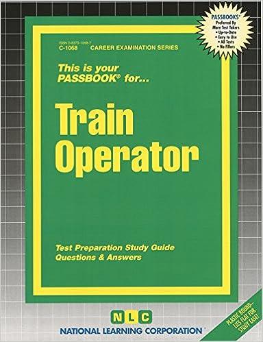 Train operatorpassbooks career examination c 1068 passbooks train operatorpassbooks career examination c 1068 fandeluxe Choice Image