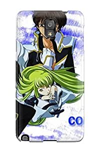 Flexible Tpu Back Case Cover For Galaxy Note 3 - Code Geass