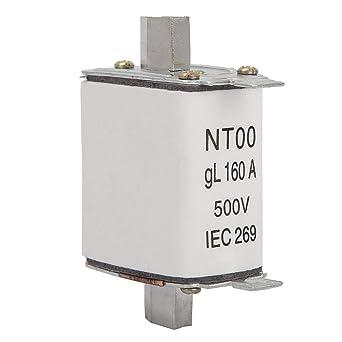 NT00 / RT16-00 Fusible Cerámico de Lámina, Protección de ...