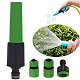 VUPDAYS Garden Spray Watering Nozzle Plant Watering Devices Hand Sprayer Watering Plants Cleaning Car Pets Wash (Green Nozzle 4p) Review