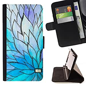 Momo Phone Case / Flip Funda de Cuero Case Cover - Printemps - Samsung Galaxy S6