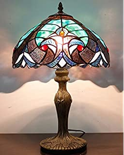 Tiffany Style Lights Handcrafted 12inch Table Lamps S160g12t