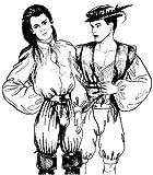Easy Renaissance Breeches/Trunkhose Pattern