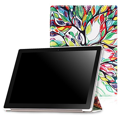 MoKo Google Pixel C Case - Slim Lightweight Smart-shell Stand Cover Case with Auto Wake / Sleep for Google Pixel C 10.2 Inch 2015 Tablet, Lucky TREE