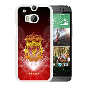 Liverpool FC iPhone 5 Wallpaper White Case with Unique and Attractive Design for Beautiful HTC ONE M8