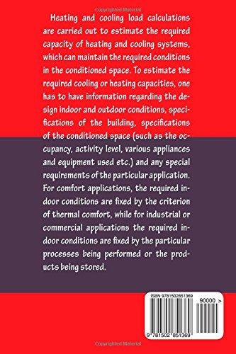 HVAC Cooling Load - Calculations & Principles: Quick Book: A Bhatia