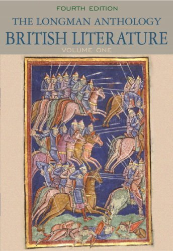 Longman Anthology of British Literature, The, Volume 1 (4th Edition) 4th (fourth) Edition by Damrosch, David, Dettmar, Kevin J. H., Baswell, Christopher, [2009]