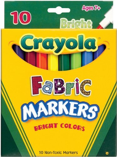 Washable Fabric Markers - 6