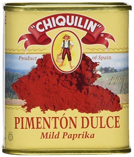 - Chiquilin Mild Paprika Tin - Tin Can 75 grams (2 PACK) Gluten FREE