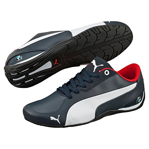 Puma BMW Ms Drift Cat 5 Nm 2, Baskets Basses Mixte Adulte Bleu (Bmw Team Blue/White)