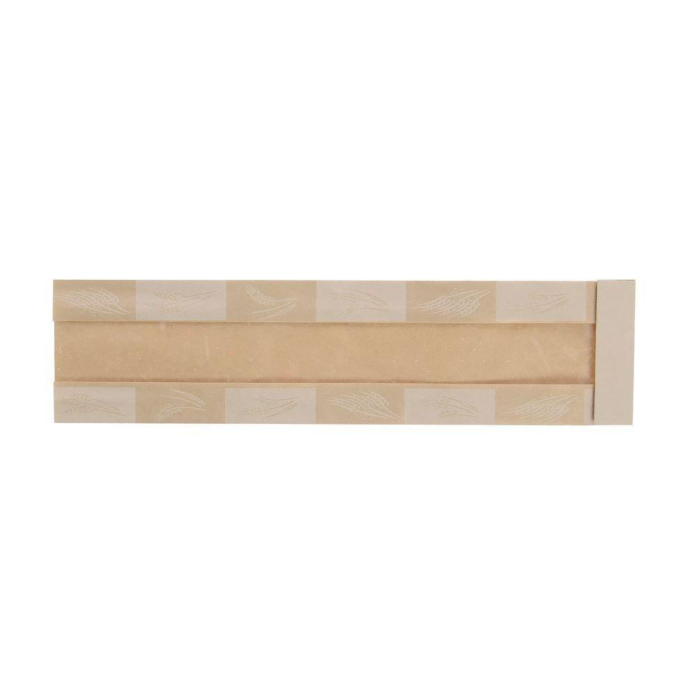 3 1/2 x 2 x 14 Eco-Friendly Bread Bag (500/Pack) - HUB-87527