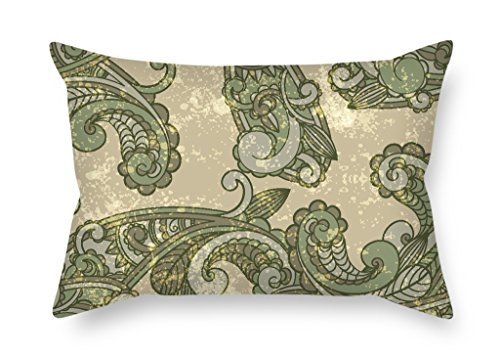 Elegancebeauty The Paisley Cushion Cases Of 20 X 30 Inches / 50 (Team Aqua Theme Deck)