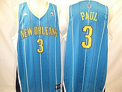 Image Unavailable. Image not available for. Color  Chris Paul New Orleans  Hornets Teal 2XL Adidas Swingman Throwback Jersey 4db233c29