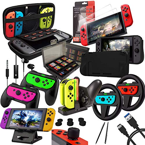 Switch Accessories Bundle - Orzl...