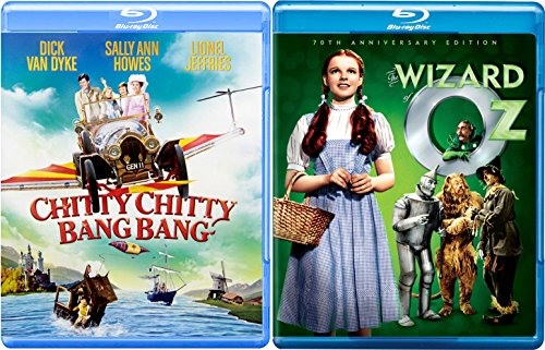The Wizard of Oz 75th Anniversary Musical Blu Ray Set + Chitty Chitty Bang Bang