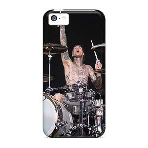TimeaJoyce Iphone 5c High Quality Hard Phone Case Custom High Resolution Blink 182 Band Image [mnh6475jyEh]