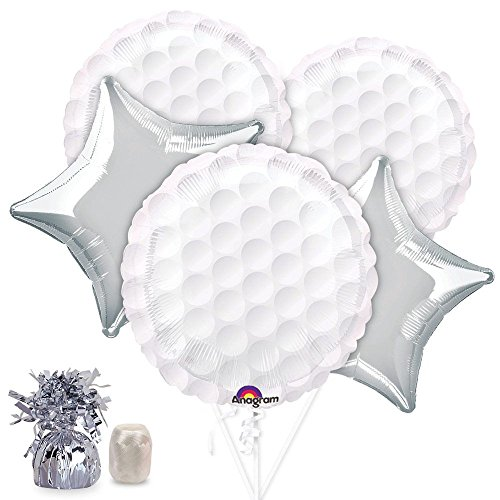 Costume Supercenter Returns (Golf Balloon Bouquet (Each))