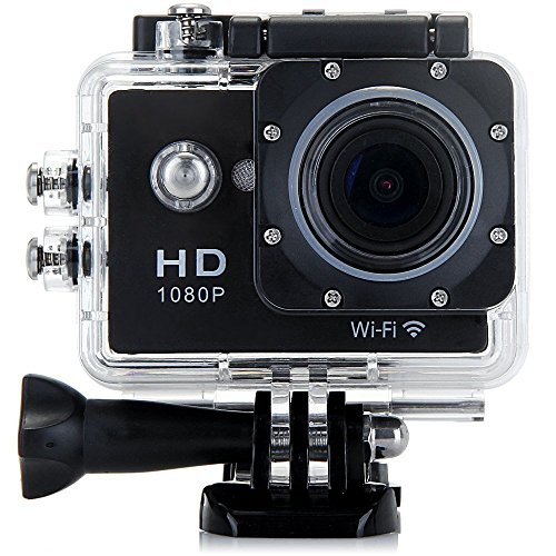 W9 12MP Sports Wi-Fi Action Camera (Black) - 4