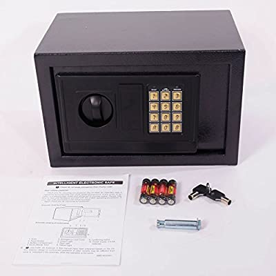 "Mefeir 9""Electronic Digital Security Safe Box Keypad Lock, Home Office Hotel Jewelry Gun Cash Use Storage"