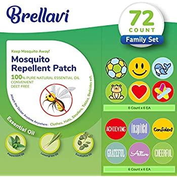 Safe for Kids and Adults Non-Toxic YHmall 120 Pcs Mosquito Repellent Patches