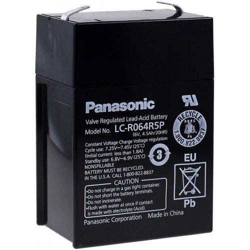 Panasonic Bleiakku LC-R064R5P, 6V, Lead-Acid