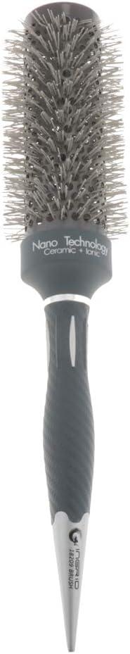 MagiDeal Práctico Peine de Cabello Rizado Pincel con Tubo de Aluminio Antiestática Brocha de Pelo Masajeador - 4,3cm