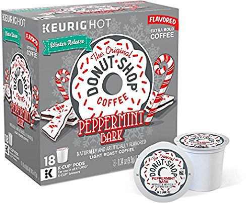 The Original Donut Shop Peppermint Bark Flavored Coffee (72 K-cups)