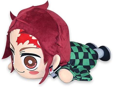Anime Demon Slayer Kimetsu no Yaiba Cosplay Pillow Toy Short Stuffed Plush