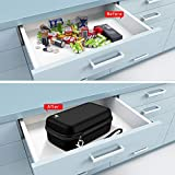 Battery Organizer Storage Case with Battery Tester