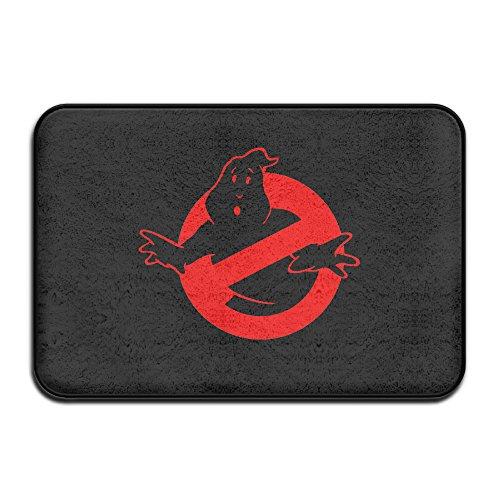 [VDSEHT Ghostbusters Black Logo Halloween Non-slip Doormat] (Lipstick Halloween Costumes)