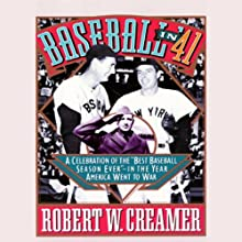 Baseball in '41 Audiobook by Robert W. Creamer Narrated by Tom Parker