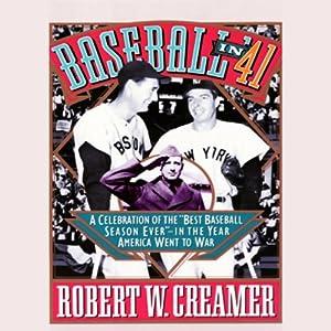 Baseball in '41 Hörbuch