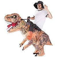 Bodysocks® Costume Gonfiabile da Dinosauro Deluxe per Adulti