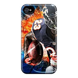 Iphone 4/4s Cover Case - Eco-friendly Packaging(brandon Marshall Chicago Bears Nfl Player) by supermalls