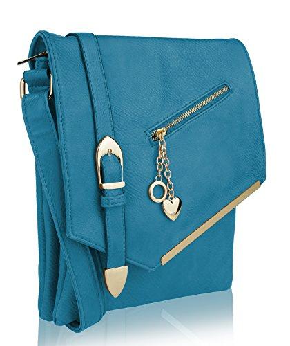 - MKF Collection Jasmine Women Stylish Vintage Crossbody Bag Fashion Flap over Handbag