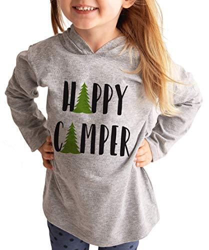 - Custom Party Shop Kids Happy Camper Outdoors Hoodie 4T