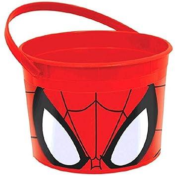 Amscan International - Cubertería para fiestas Spiderman (261355): Amazon.es: Juguetes y juegos
