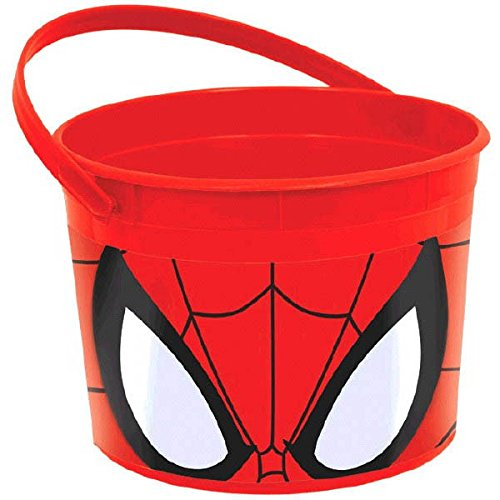 Spiderman Costume Design Scene (Spider-Man Favor Pail)