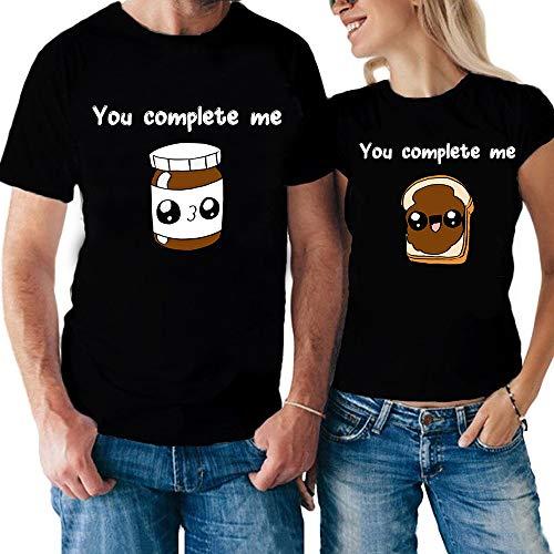 Idea You Complete Pane San shirt Valentino Nero Per Me shirteria T Tuo Tua Lei Coppia T la Lui Il E Cioccolata Regalo wgqYS7n
