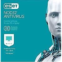 Deals on ESET NOD32 Antivirus 2019 5 PCs