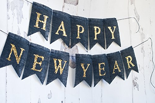 Happy New Year Banner, Happy New Year Sign -