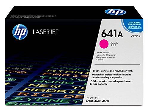 Color Laserjet 4600 Laser - HP 641A (C9723A) Magenta Toner Cartridge for HP Color LaserJet 4600 4650