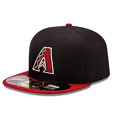 MLB Arizona Diamondbacks Batting Practice 59Fifty Baseball Cap, Black/Red