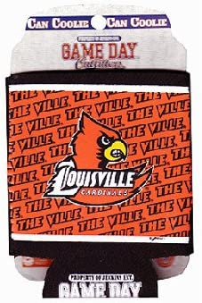 NCAA Louisville Cardinals Bottle Drink Coozie