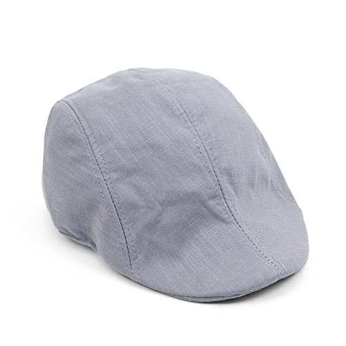 Unisex Classic Solid Color Ivy (Old Fashioned Newsboy Cap)