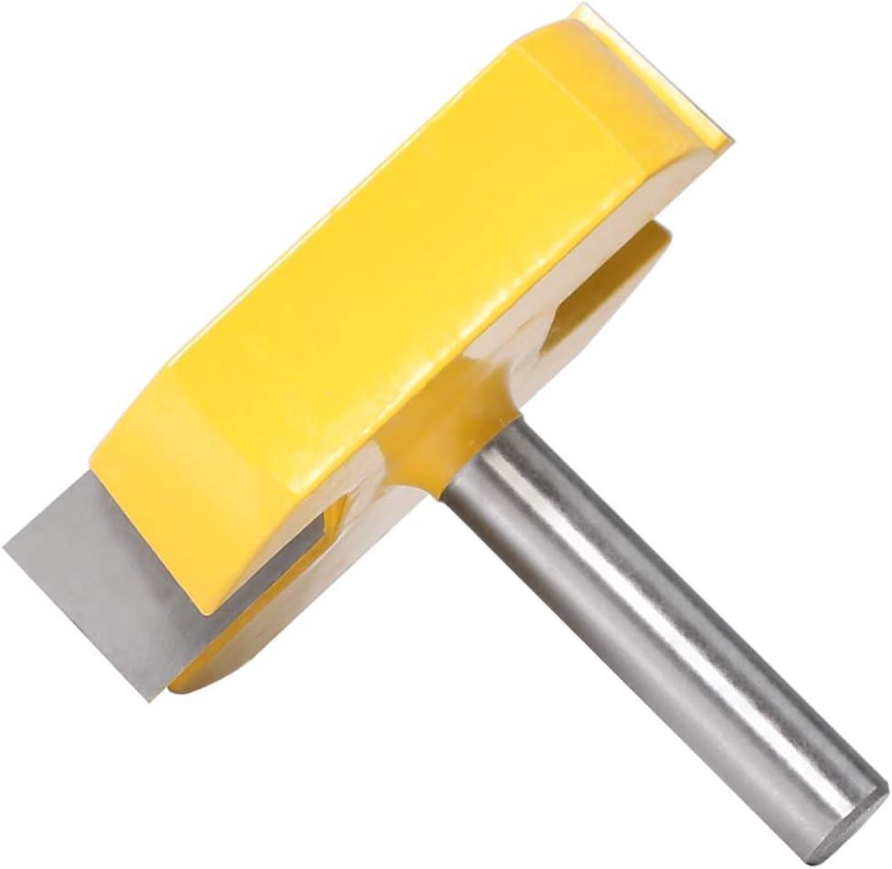 8mm Schaft Boden reinigen Router Bits Fl/ächenhobelung Router Bits Durchmesser Bodenreinigung Holzbearbeitungsfr/äser Bit