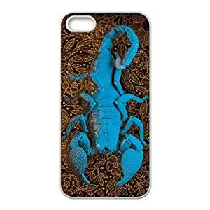Customized case Of Scorpion Hard Case for iPhone 5,5S by icecream design