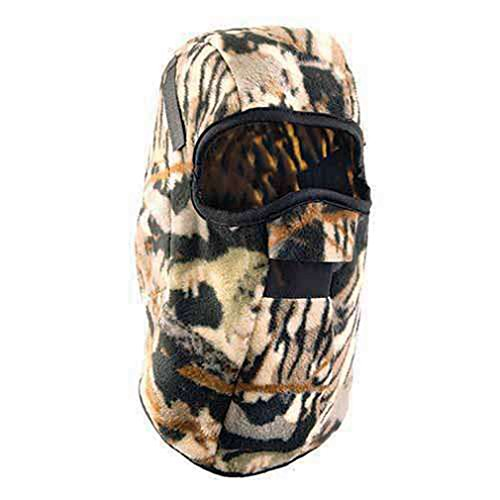 Stay Warm - 3-in-1 Fleece Balaclava - Where it 3 Different ways! - CAMO-12-PACK by Haynesville