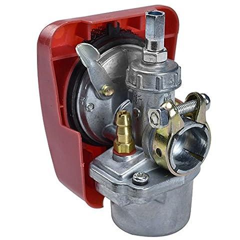 JCMOTO Speed Carburetor Carb 2-Stroke 48 49 50 60 66 80cc cc | motorized bicycle bike engine motor - Stroke Engine Carburetors