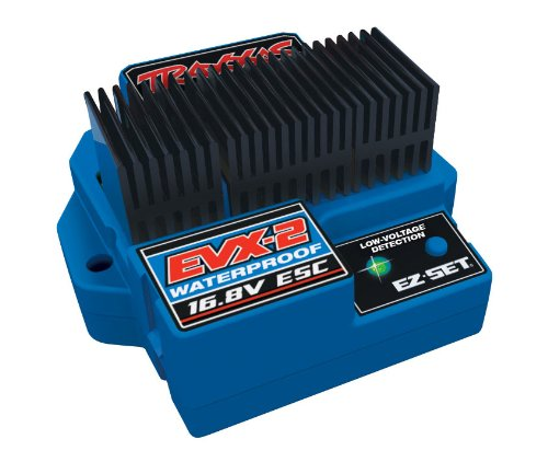 Traxxas 3019R EVX-2 Waterproof ESC with Low Voltage Detection